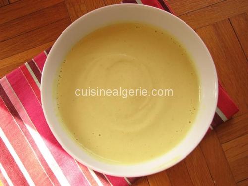 soupe au chou fleur cuisine alg rie