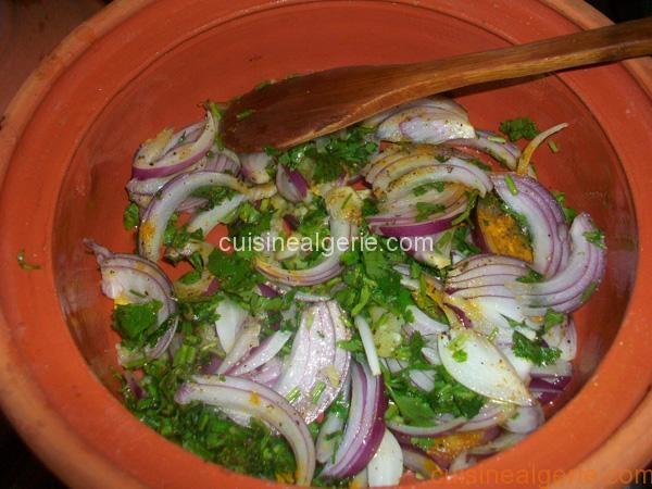 Haricots verts à l'ail et à la coriandre fraîche - préparation