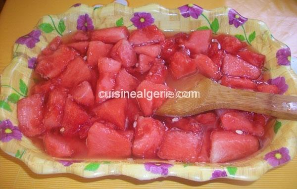 Confiture de pastèque