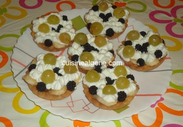 Tartelettes aux fruits