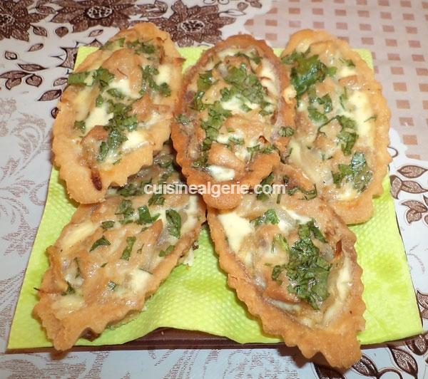 Barquettes au thon cuisine alg rie for Cuisine entree facile