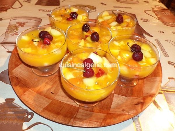 flan aux fruits et jus d orange cuisine alg 233 rie
