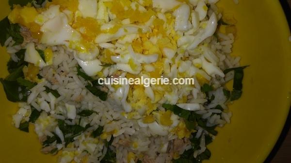 Bourek au riz, thon et œufs durs